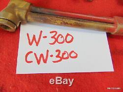 (1) PUROX LINDE CUTTING WELDING TORCH Oxygen Acetelyne Cutting Torch Tool ESAB