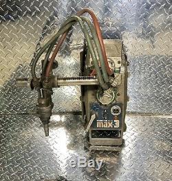 2004 Koike Aronson Ransome IK-12 Max-3 Metal Cutting Track torch Burner 120 Volt