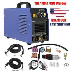 3in1 CT312 TIG/MMA/CUT Air Plasma Cutter Welder Welding Torch Machine For Metal