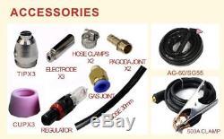 60A IGBT ARC Plasma Cutter Machine Compatible AG60 Torch 2/3' Cut Welders cut60