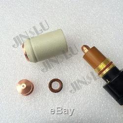 A141 HF pilot arc 4M CNC Plasma Cutting OEM Trafimet Plasma Torch Straight