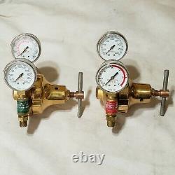 AIRCO Regulator Set 806 9106 Oxygen 806 9109 Acetylene Cutting Welding Torch