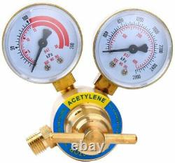 Air Acetylene Kit Torch Kit Acetylene Regulator CGA 200 Gas Welding Cutting Tool