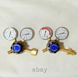 BLUE POINT Regulator Set WE200A1 Oxygen WE200A2 Acetylene Cutting Welding Torch