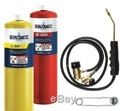 Bernzomatic WK5500OX Cutting Welding Brazing Kit Oxygen + Mapp & Torch