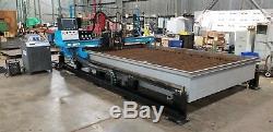 C&G CNC 100, 200 amp Plasma Cutting Machine marking Gas Torch 9x14 water table