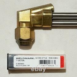 CRAFTSMAN HARRIS Cutting Welding Torch Set Tips Brazing Heavy Duty 6290