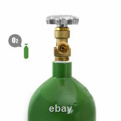 DOT portable 20 Cubic Foot oxygen Cylinder Tank Empty welding torch oxy cut
