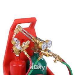 FREESHIP Professional Tote Oxygen Acetylene Oxy Welding Cutting Torch Kit withTank