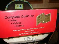 Firepower Oxy-Acetylene Outfit Torch Regulator Kit Welding And Cutting USA MADE