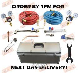 Full Oxy/ Acetylene Type 5 Welding & Cutting Set Gas Torch Cutter Nozzle Kit
