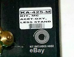 GOSS VICTOR Type KA-425-M Cutting Welding Torch Set Outfit Kit Regulator Tips MC