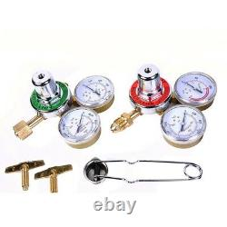 Gas Welding Cutting Kit Oxy Acetylene Oxygen Torch Brazing Fits VICTOR WithHose cy