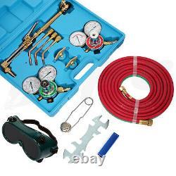 Gas Welding Cutting Kit Oxygen Acetylene Oxygen Torch Brazing Kit