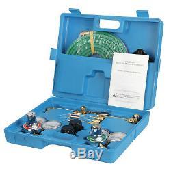 Gas Welding & Cutting Kit Oxygen Torch Acetylene Regulator Welder Portable Case