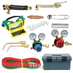 Gas Welding and Cutting Kit Victor Type 250 System Oxygen Torch Regulator Set