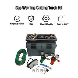 Gas Welding and Cutting Kit Victor Type Acetylene Oxygen Torch Set Regulator US