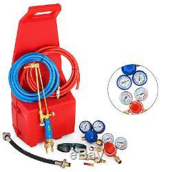 Gas Welding and Cutting Kit Victor Type Propane Oxygen Torch Set Regulator