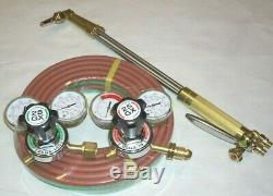 Genuine Harris 62-4F 21 LP Propane Cutting Torch Regulator Kit w 25' Weld Hose