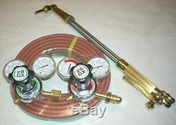 Genuine Harris 62-5F 21 LP Propane Cutting Torch Regulator Kit w 25' Weld Hose