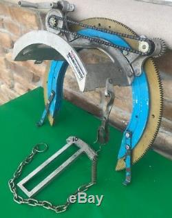 H&M 8-12 Pipe Beveler Beveling Cutter Cutting Welding Tool Torch Holder
