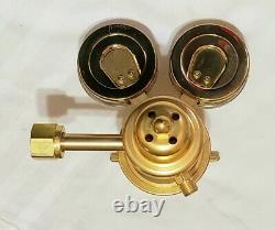 HARRIS 9200-125-540 Two 2 Stage Oxygen Regulator Cutting Welding Torch Multi