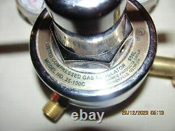 HARRIS REGULATOR SET 25-100C OXYGEN 25-15C ACETYLENE Cutting Welding Torch NOS