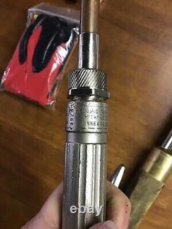 Harris 62-4 Acetylene Cutting Welding Torch Bundle Includes Smith Torch & Gloves