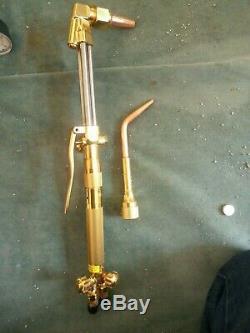Harris Model 85 Full Cutting/welding Torch Set-hose-gauges-tips-new