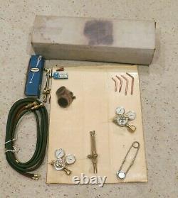 Harris Oxygen / Acetylene Welding and Cutting Torch Set