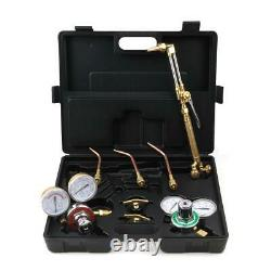 High Quality Gas Welding Cutting Welder Kit Oxy Acetylene Oxygen Torch with Hose