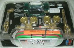 Hobart 770502 Medium Duty Oxy-Acetylene Cutting Welding Torch Outfit w Extras