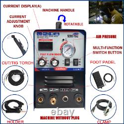 Inverter Arc DC 3-IN-1 MMA/TIG/CUT Welding Machine 520TSC with pt31/wp17 torch