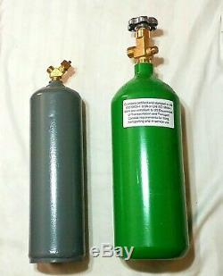 LINCOLN TOTE CARRIER & OXYGEN ACETYLENE TANKS For Portable Cutting Welding Torch