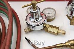 LOT Harris Regulators Torch Handles Cutting Tips Hose Lens for Welding Cutting