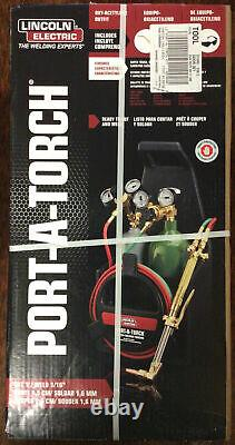 Lincoln Electric Port-A-Torch Kit Ready To Cut and Weld Model# KH990 New