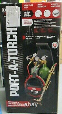 Lincoln Electric Port-A-Torch Ready to Cut & Weld Kit KH990 BRAND NEW