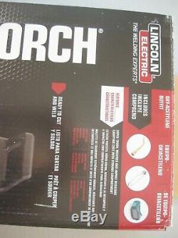 Lincoln Electric Port Torch Kit Cutting Weld Braze Hose Bottle Oxygen Acetylene