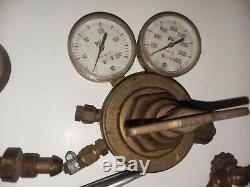 Lot Welding Cutting torches, Gauges Harris Victor