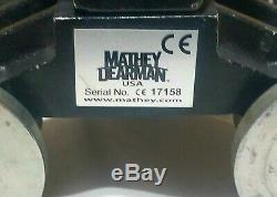 MATHEY DEARMAN MINI JOLLI Pipe Cutting Chain Machine Torch Bevel Manual Weld USA