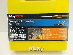 Mag-Torch, Brazing Cutting Welding Torch Kit Oxygen Map Pro-Set