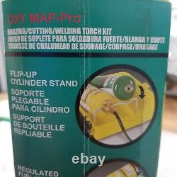 Mag-Torch Brazing Cutting Welding Torch Kit Oxygen Map Pro-Set Brand NEW Sealed