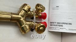 Matheson Select Medium Duty Oxygen Acetylene Cutting Welding Torch Set CGA510