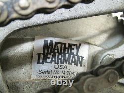 Mathey Dearman 2SA 6 12 Pipe Beveling Cutting Welding Machine No Torch Used