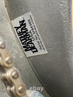 Mathey Dearman Pipe Beveling Machine 3SA 12 20 Cutting Welding torch bracket