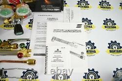 NEW ESAB Purox Elite Metalmaster Champion Welding & Cutting Outfit Torch Kit