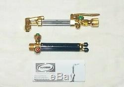 NEW HARRIS Cutting Welding Torch Set 36-2 Cutting Attachment Head 19- Handle