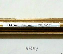 NEW IOXYGEN VICTOR STYLE Cutting Welding Torch Set Attachment Handle Brazing Tip