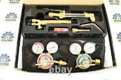 NEW Lincoln Electric HARRIS Cutting Welding Torch Outfit Set H8525-510 DLX