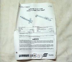 NEW PUROX W-250 CUTTING WELDING TORCH HANDLE ESAB Oxweld Linde L-Tec CW-250